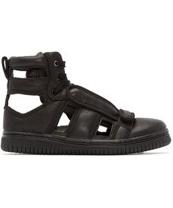 CHRISTIAN PEAU | Black Cp-Hi-Cut Sneakers