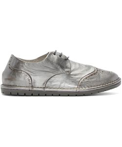 Marsèll Gomma | Silver Leather Brogues