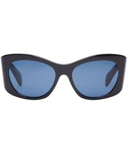 Oliver Peoples The Row | Black Acetate Bother Me Sunglasses