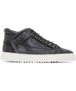 ETQ AMSTERDAM | Leather Meriva Mid 2 Sneakers