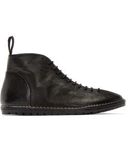 Marsèll Gomma | Black Leather Sancrispa Lace-Up Boots