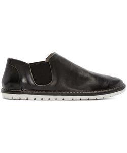 Marsèll Gomma | Black Leather Espadrilles