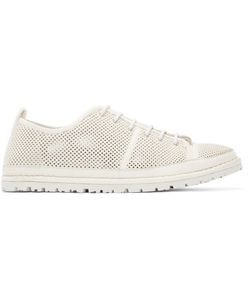 Marsèll Gomma | White Perforated Riccicarro Sneakers