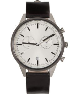 Uniform Wares | Silver And Gunmetal C41 Watch