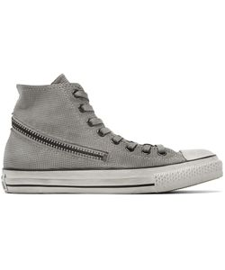 Converse by John Varvatos | Grey Tornado Zip High-Top Sneakers