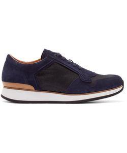 No.288 | Suede And Mesh Bleecker Low-Top Sneakers