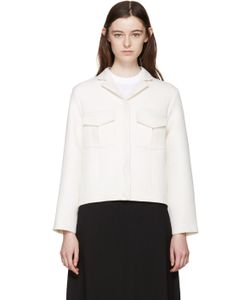 Harmony | Off-White Cropped Jacket