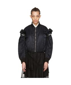 Noir Kei Ninomiya | Pearl Bomber Jacket