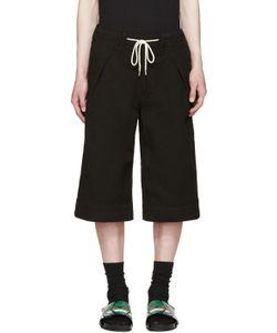 Sasquatchfabrix   Textured Sashico Hakama Shorts