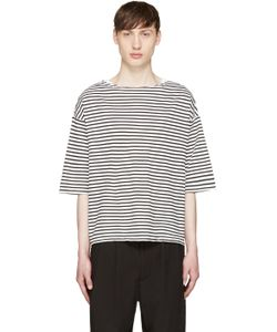Sasquatchfabrix   And Black Striped Boatneck T-Shirt