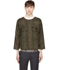 Blackmeans | Green Check Shirt