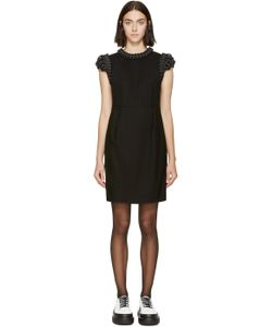 Noir Kei Ninomiya | Black Braided Trim Dress