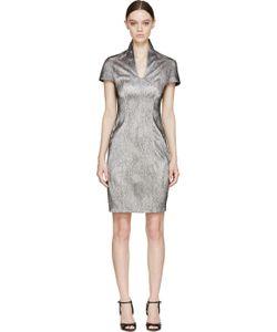 Iris Van Herpen   Black And White Cymatic Lace Dress