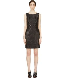 Iris Van Herpen | Embossed Leather Dress