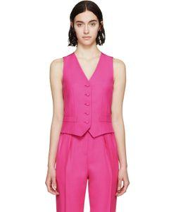 PALLAS   Pink Wool Hestia Vest