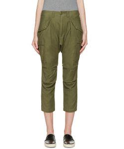 NLST   Green Cargo Harem Pants