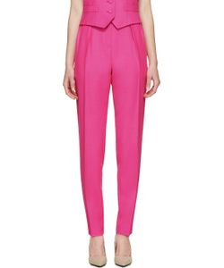 PALLAS | Pink Wool Hypnos Trousers