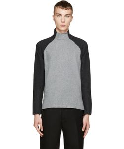 Johnlawrencesullivan | And Black Felted Wool Sweater