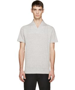 Sasquatchfabrix | Grey High Collar T-Shirt
