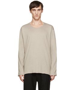 Nude:mm | Nude Mm Beige Long Sleeve T-Shirt