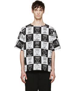 Etudes Studio | Black And White Fido Dido T-Shirt