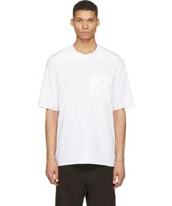 SIKI IM | White Poplin Minimal T-Shirt
