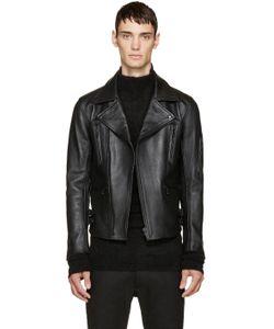 Blackmeans | Monochrome Biker Jacket