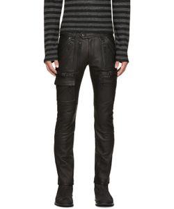 Blackmeans | Leather Biker Pants