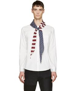 Sasquatchfabrix | White Stars And Stripes Shirt