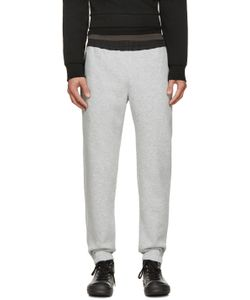 TIM COPPENS | Grey And Black Lux Lounge Pants