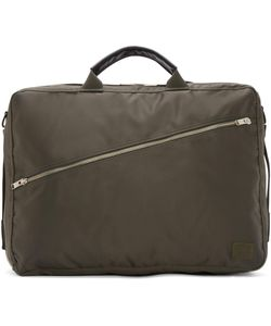 Porter | Green Three Way Lift Briefcase