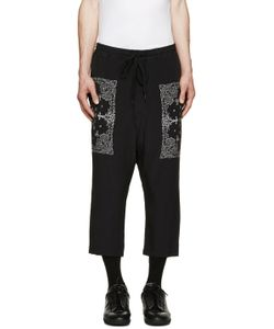 Diet Butcher Slim Skin | Black Silk Bandana Lounge Pants