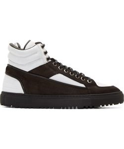 ETQ AMSTERDAM | And White Leather High-Top Sneakers