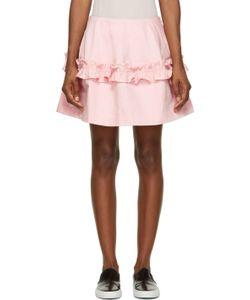 SIMONE ROCHA X J BRAND | J Brand X Simone Rocha Ruffled Denim Skirt