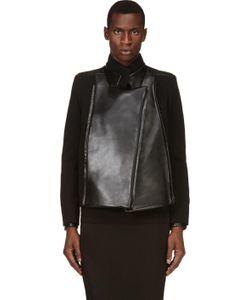RAD BY RAD HOURANI | Leather Panel Jacket