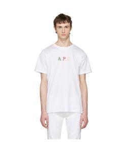 A.P.C. | A.P.C. Logo Couleurs T-Shirt