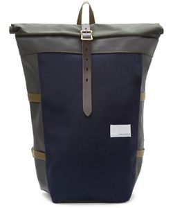 Nanamica | Navy And Green Cycling Backpack