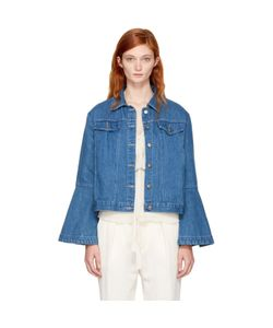 Edit | Denim Flute Sleeve Jacket