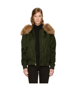 Mr and Mrs Italy | Hooded New York Bomber Jacket
