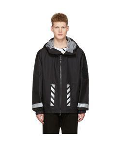 Moncler O   Logo Windbreaker Jacket