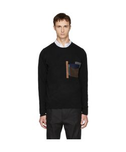 Kolor | Patchwork Pocket Sweater