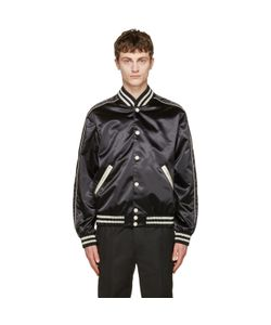 Calvin Klein Collection   Satin Rankin Bomber Jacket