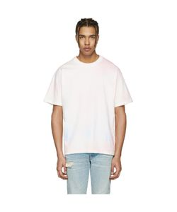 John Elliott | Oversized Cropped Tie-Dye T-Shirt