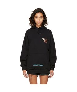 OFF-WHITE | Oversized Eyes Hoodie