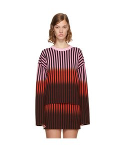 Opening Ceremony | Dip Dye Striped Sweater