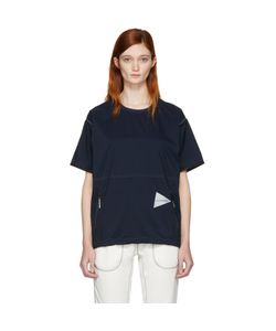 AND WANDER | Pertex Wind T-Shirt
