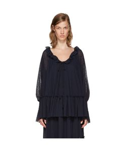 See By Chloe | See By Chloé Gauze Jersey Blouse