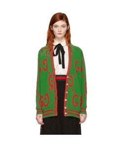 Gucci | Oversized Ghost Cardigan