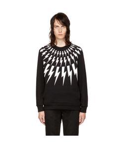Neil Barrett | And Fairisle Thunderbolt Sweatshirt