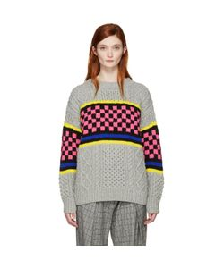 ASHLEY WILLIAMS | Oversized Cable Knit Sweater